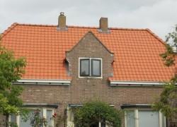 Het gehele dak voorzijde